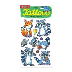 Tattoos Waschbären von Lutz Mauder