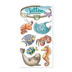 Tattoos Meerestiere von Lutz Mauder