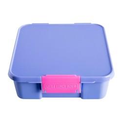 Little Lunch Box Co Znünibox Bento Three in Lila