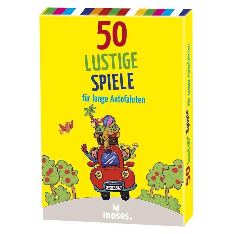50 lustige Spiele für lange Autofahrten