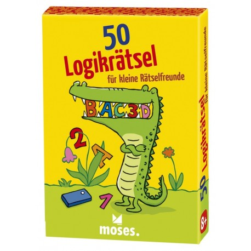 50 Logikrätsel für kleine Rätselfreunde