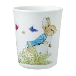 Melamin Trinkbecher Peter Rabbit - Peter Hase im Garten