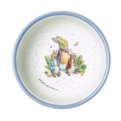 Melamin Schale Peter Rabbit - Peter Hase blau