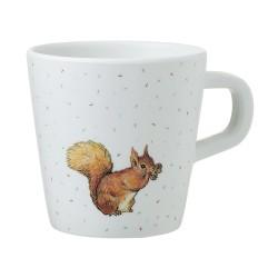 Melamin Tasse Peter Rabbit - Peter Hase Eichhörnchen