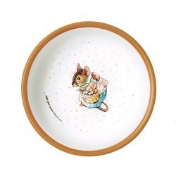 Melamin Schale Peter Rabbit - Peter Hase karamell