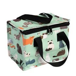 Isolierte Lunch Bag Tasche Nine Lives Katzen von Rex London