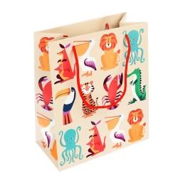 Geschenktasche Colourful Creatures von Rex London