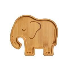 Bambus Teller Elefant für Kinder von Sass & Belle