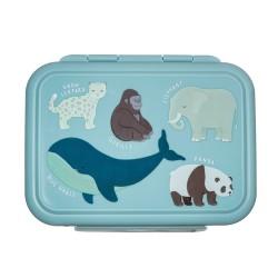 Edelstahl Lunchbox Wilde Tiere von Sass & Belle