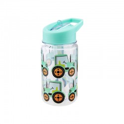 Trinkflasche Traktor mit Strohhalm von Sass & Belle