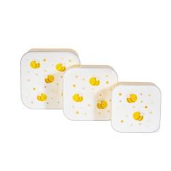 Lunchbox Set Happy Bee von Sass & Belle