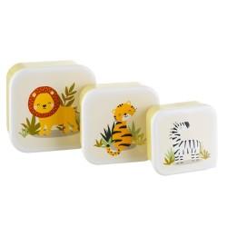 Lunchbox Set Safari Savanne von Sass & Belle