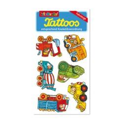 Tattoos Baustellenfahrzeuge von Lutz Mauder