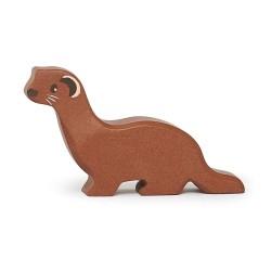 Holztier Wiesel von Tender Leaf Toys
