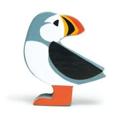 Holztier Papageientaucher von Tender Leaf Toys