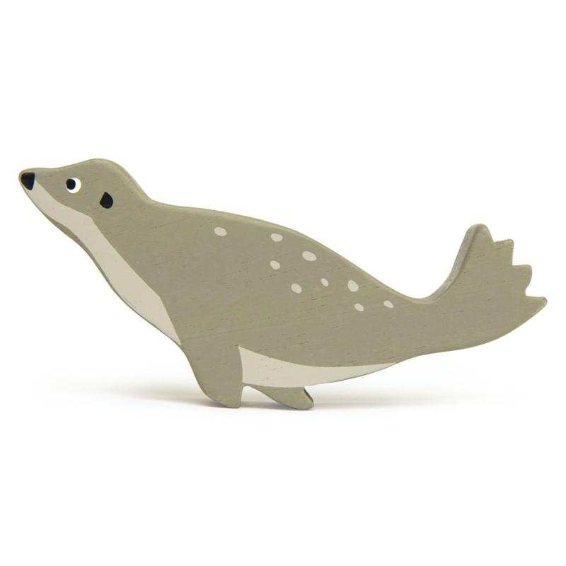 Holztier Seehund von Tender Leaf Toys