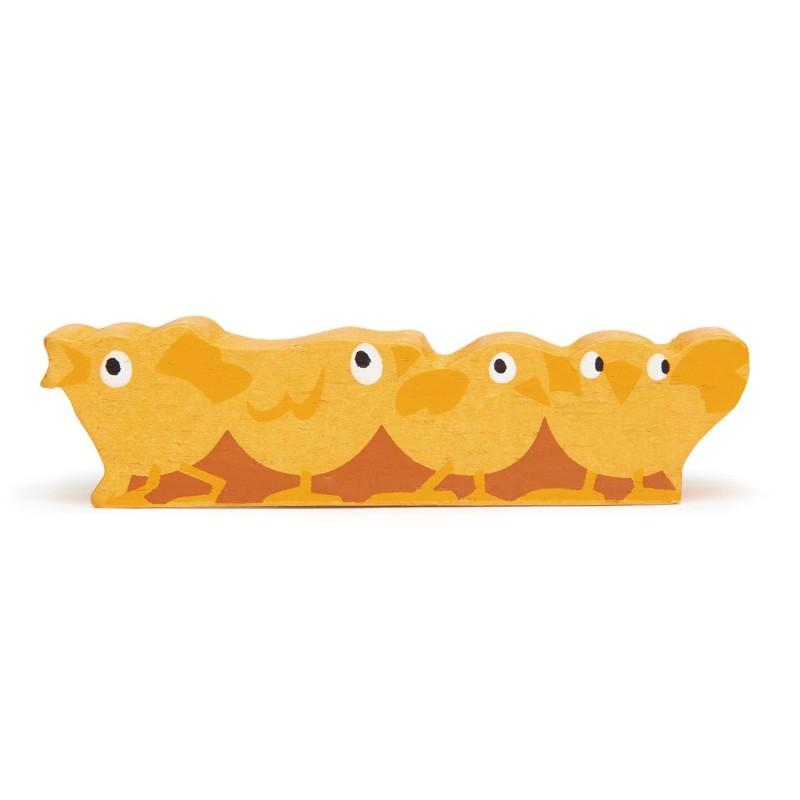 Holztier Küken von Tender Leaf Toys