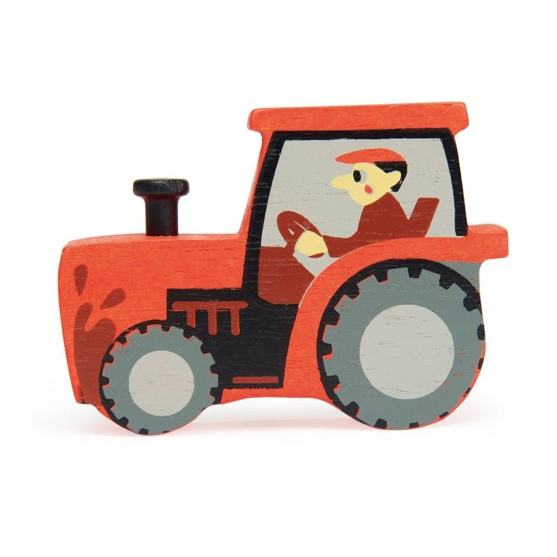 Spielfigur Traktor von Tender Leaf Toys