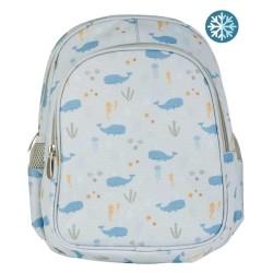 Kinderrucksack Ozean mit Isofach von A Little Lovely Company