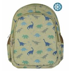 Kinderrucksack Dinosaurier mit Isofach von A Little Lovely Company