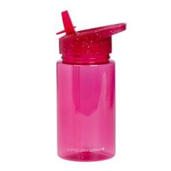 Trinkflasche Glitzer pink von A Little Lovely Company