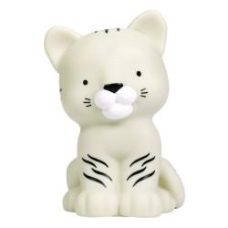 Nachtlicht Weisser Tiger von A Little Lovely Company