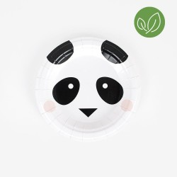 My Little Day Pappteller Panda