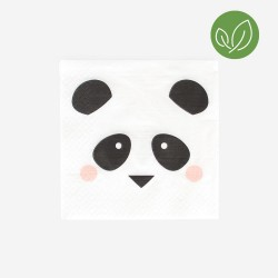 My Little Day Servietten Panda