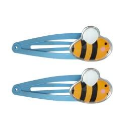 Haarspangen mit Biene