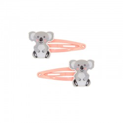 Haarspangen mit Koala 2er Set