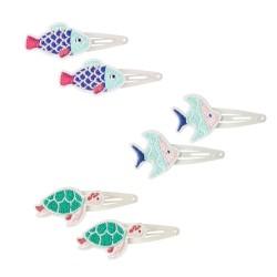 Haarspangen mit Meerestieren 2er Set