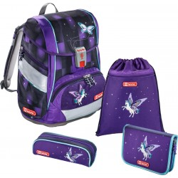Schulthek Step by Step Pegasus 2in1 lila