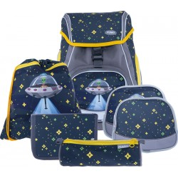 Schulthek Funki Flexy-Bag Alien bunt