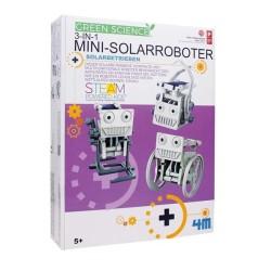 Experimentierkasten Mini Solarroboter 3in1