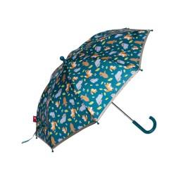 sigikid Kinder Regenschirm Fuchs in grün