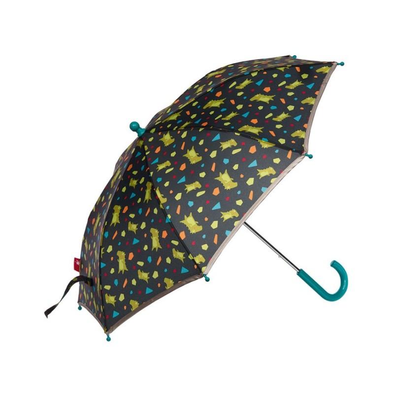 sigikid Kinder Regenschirm Drache in bunt