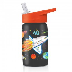 Trinkflasche Eco Space Explorer aus Tritan
