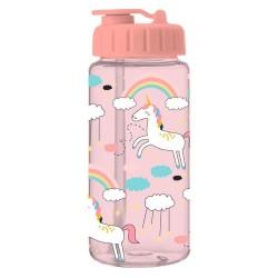 Trinkflasche Einhorn rosa