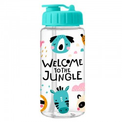 Trinkflasche Welcome to the Jungle bunt