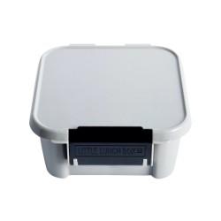 Little Lunch Box Znünibox Bento Two Grau