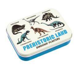 Pflaster Dinosaurier Prehistoric Land in Metalldose