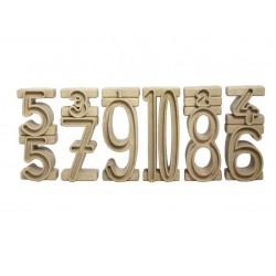 Zahlenbausteine & Stapelzahlen
