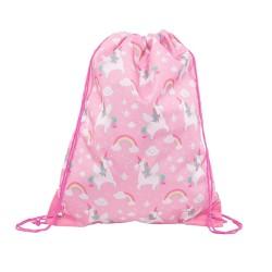 Turnbeutel Einhorn Betty pink