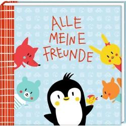Freundebuch Pinguin Alle meine Freunde