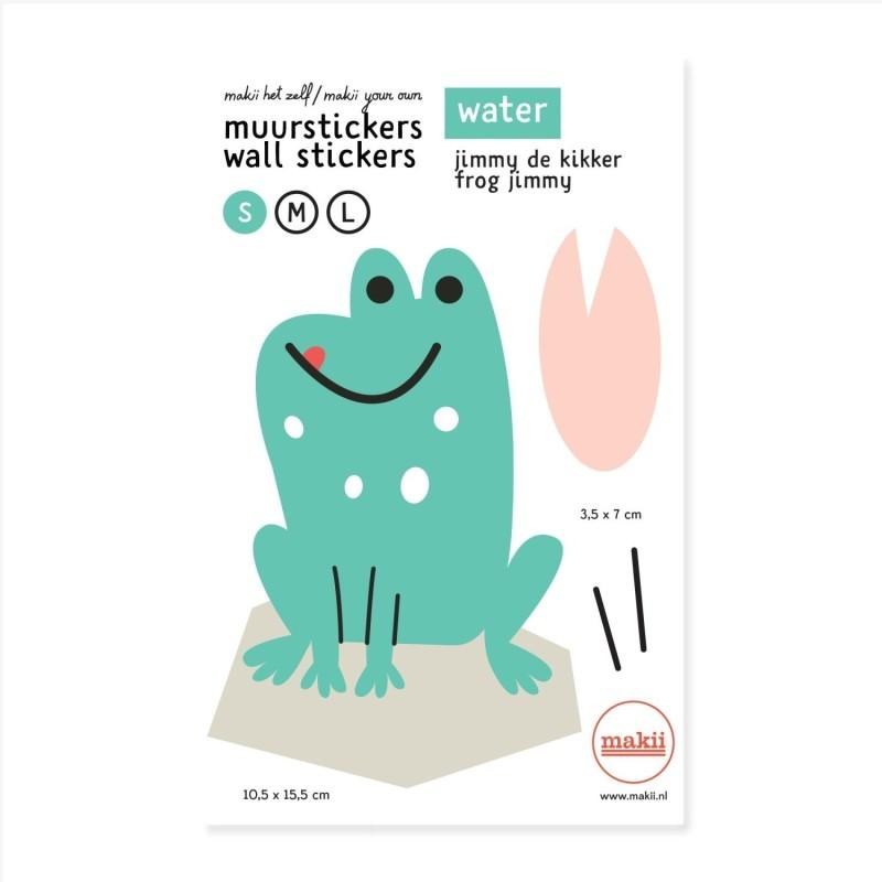 Wandsticker Frosch Jimmy