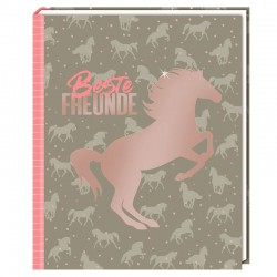 Freundebuch Beste Freunde I love horses
