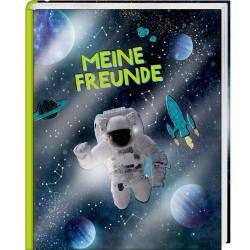 Freundebuch Astronaut Meine Freunde