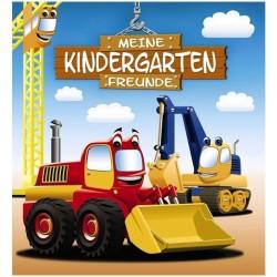 Freundebuch Bagger Meine Kindergartenfreunde
