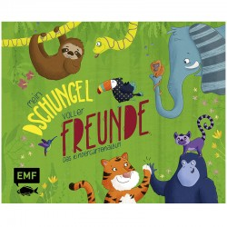 Freundebuch Mein Dschungel voller Freunde