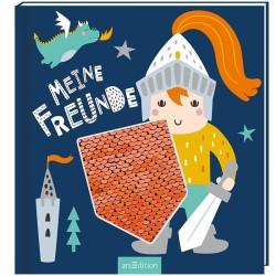 Freundebuch Ritter & Drachen Meine Freunde